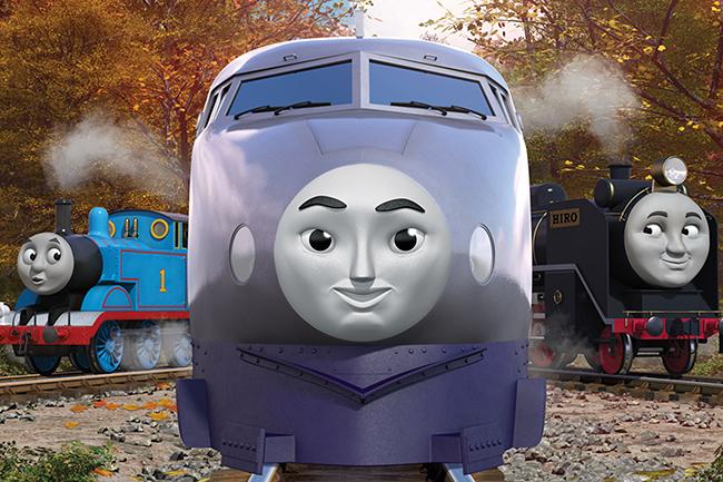 世界中の子どもたちに愛され、2020年に原作出版75周年を迎えた「きかんしゃトーマス」の劇場版最新作『映画 きかんしゃトーマス おいでよ!未来の発明ショー!』が2021年春公開!本作で初登場する日本からやってきた新キャラクター超特急のケンジが初お披露目!