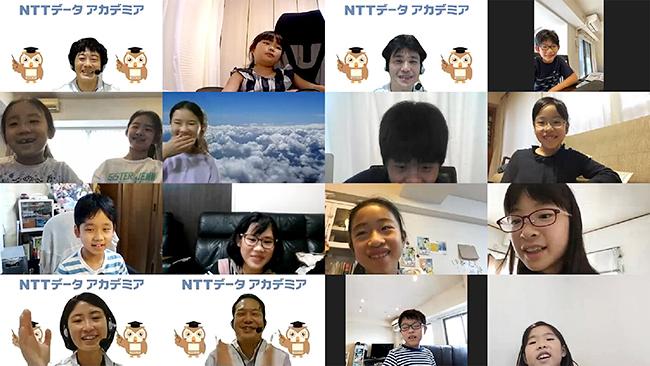 NTTデータではこれからの社会を担う小学生にITを体験してもらう「NTTデータ アカデミア プログラミング体験」を2021年2月20日(土)・21日(日)にオンラインで開催。参加者募集中!Scratch(スクラッチ)を使ってアニメーションや簡単なゲームをつくります。