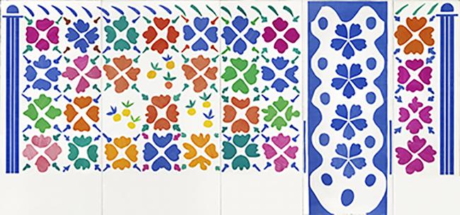 国立新美術館では「マティス 自由なフォルム」展を2021年9月15日(水)から12月13日(月)まで開催!切り紙絵の大作《花と果実》をはじめ、マティスが最晩年にその建設に取り組んだヴァンスのロザリオ礼拝堂に至るまで、マティスの至高の芸術を紹介!