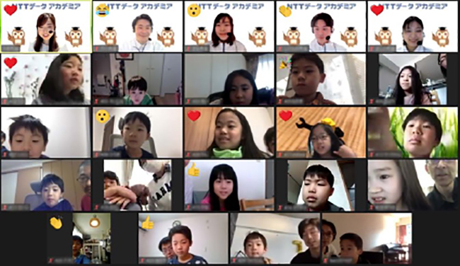 NTTデータではこれからの社会を担う小学生にITを体験してもらう「NTTデータ アカデミア オンラインプログラミング体験」を2021年8月27日(金)・28日(土)・29日(日)にオンラインで開催。参加者募集中!Scratch(スクラッチ)を使ってアニメーションや簡単なゲームをつくります。