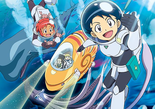 『人体のサバイバル!』に続くサバイバルシリーズの第2弾『深海のサバイバル!』が待望の映画化、2021年8月13日(金)全国公開!「深海」を舞台に、サバイバルの達人ジオとその仲間たちが、持ち前の勇気とアイデアでさまざまな困難に立ち向かう!『おしりたんてい』と豪華二本立て!