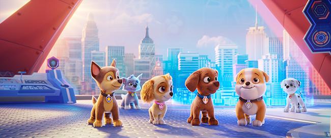 大人気アニメ「パウ・パトロール」の劇場版最新作「パウ・パトロール ザ・ムービー」が2021年8月20日(金)全国公開! キュートな子犬がさまざまなトラブルをパウっと解決! パウフェクト!新キャラクターリバティの声を務める安倍なつみさんに映画の見どころ、子育てについてインタビュー!