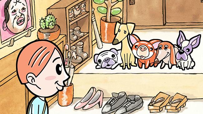 愛犬リクとのかけがえのない日々を坂上忍が書き下ろし、野性爆弾のくっきー!がイラストを描いた絵本「リクはよわくない」がアニメーション映画化、2021年10月1日(金)全国公開!主題歌は斉藤和義!多くの子どもたち、動物を愛する人々の心を温かな感動で包み込む!