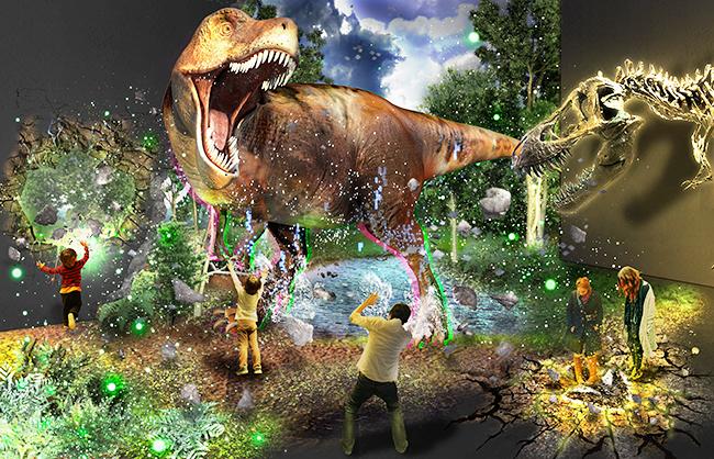 ティラノサウルスの全身復元骨格が集結する「ティラノサウルス展 ~T. rex 驚異の肉食恐竜~」が2021年11月13日(土)から名古屋市科学館で開催!ティラノサウルスの全身復元骨格、なかでも獲物のエドモントサウルスに襲いかかる様子を再現したティラノサウルス(アイヴァン)は日本初公開!